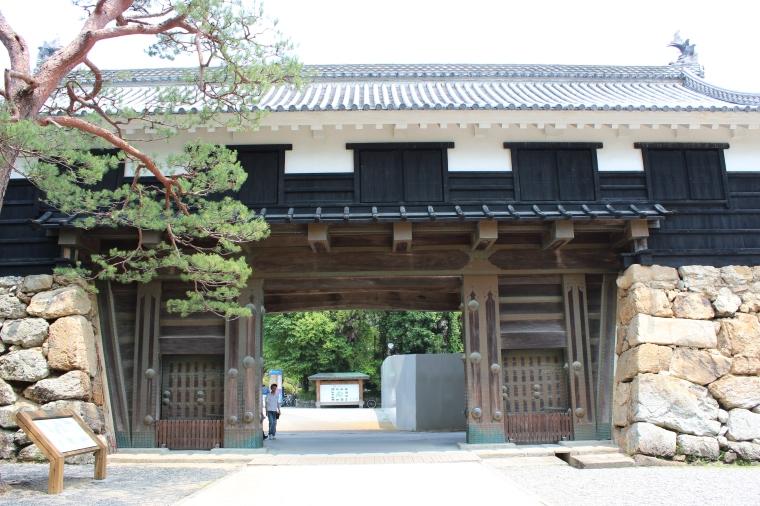 gates to Kochi Castle