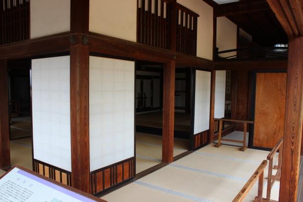 kochi castle interior