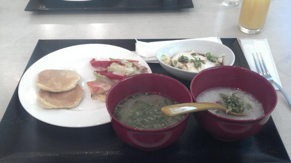Beppu Suginoi breakfast buffet