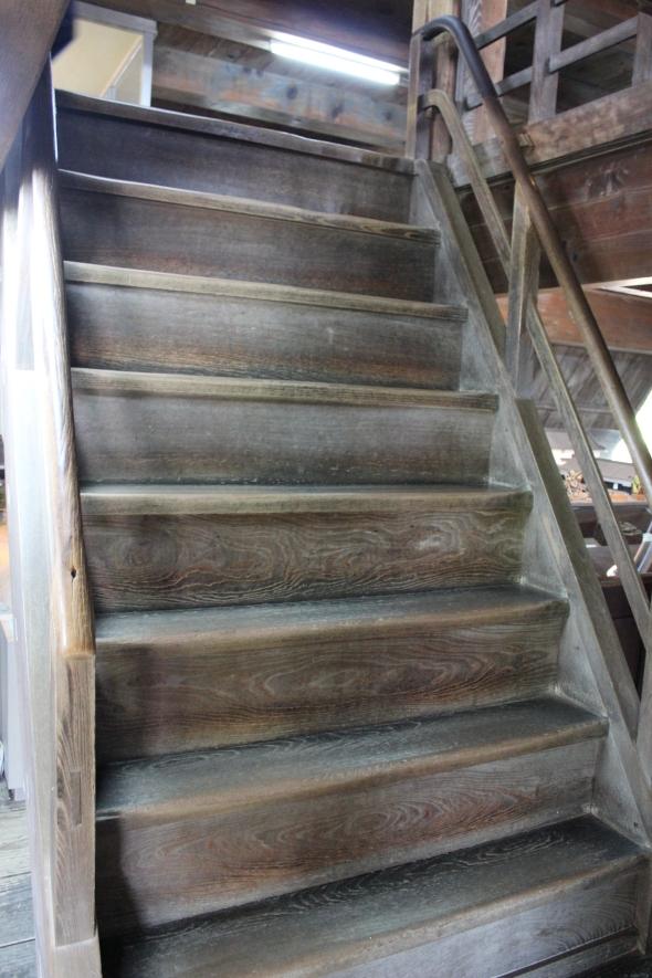 kochi castle stairs