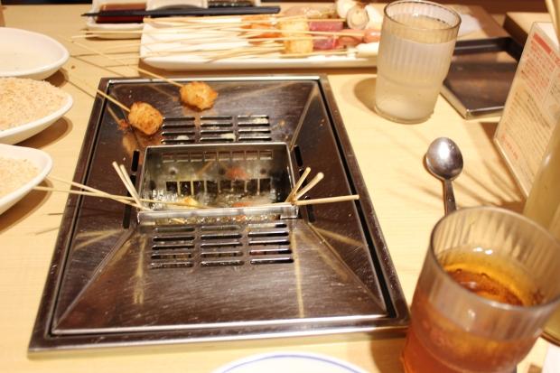 Kushiya Monogatari table