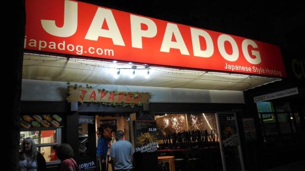 japadog storefront