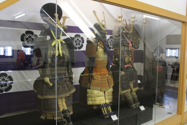 gifu castle exhibit