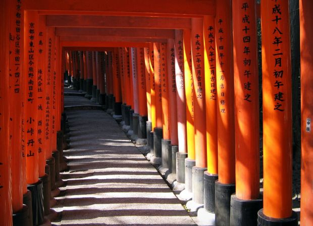 senbon torii, kyoto