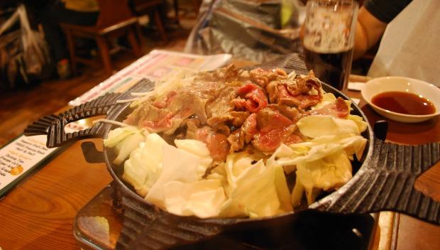sapporo beer garden cooking 2