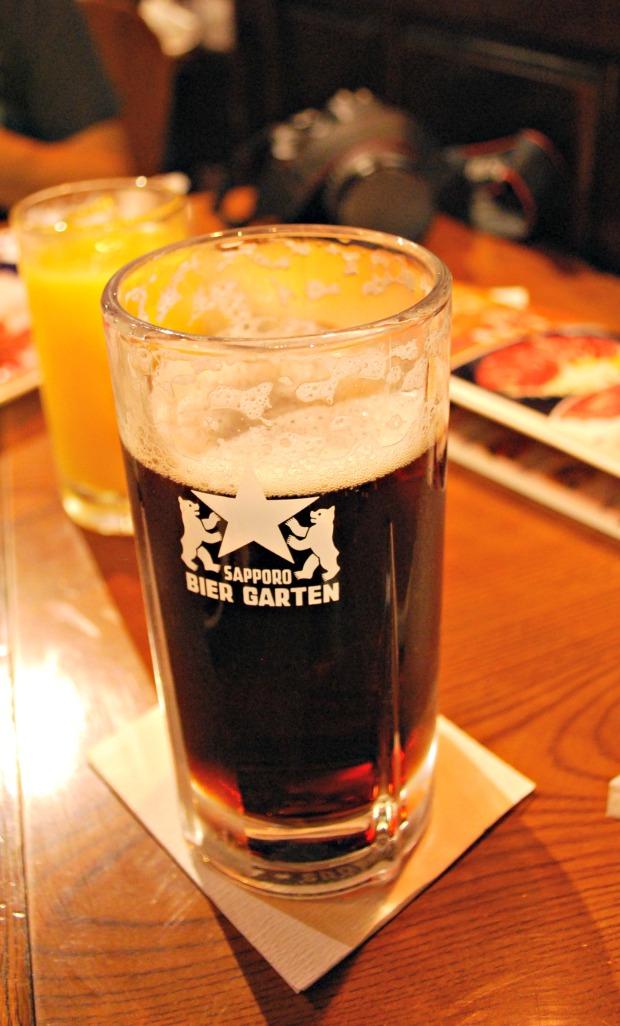 sapporo beer garden drink 1
