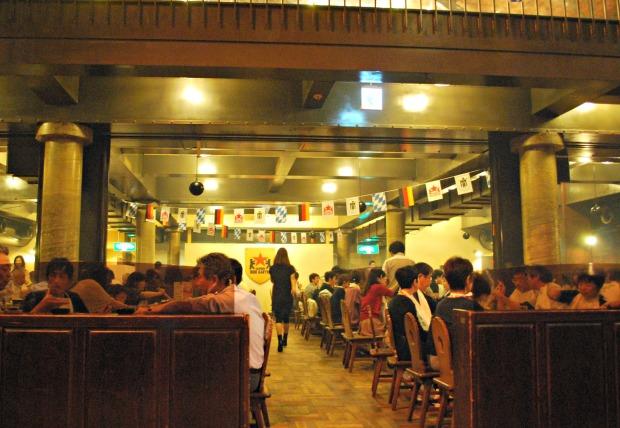 sapporo beer garden interior 2