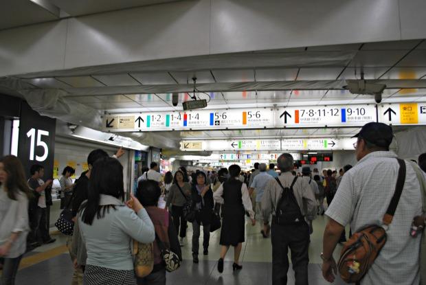 shinjuku station 4