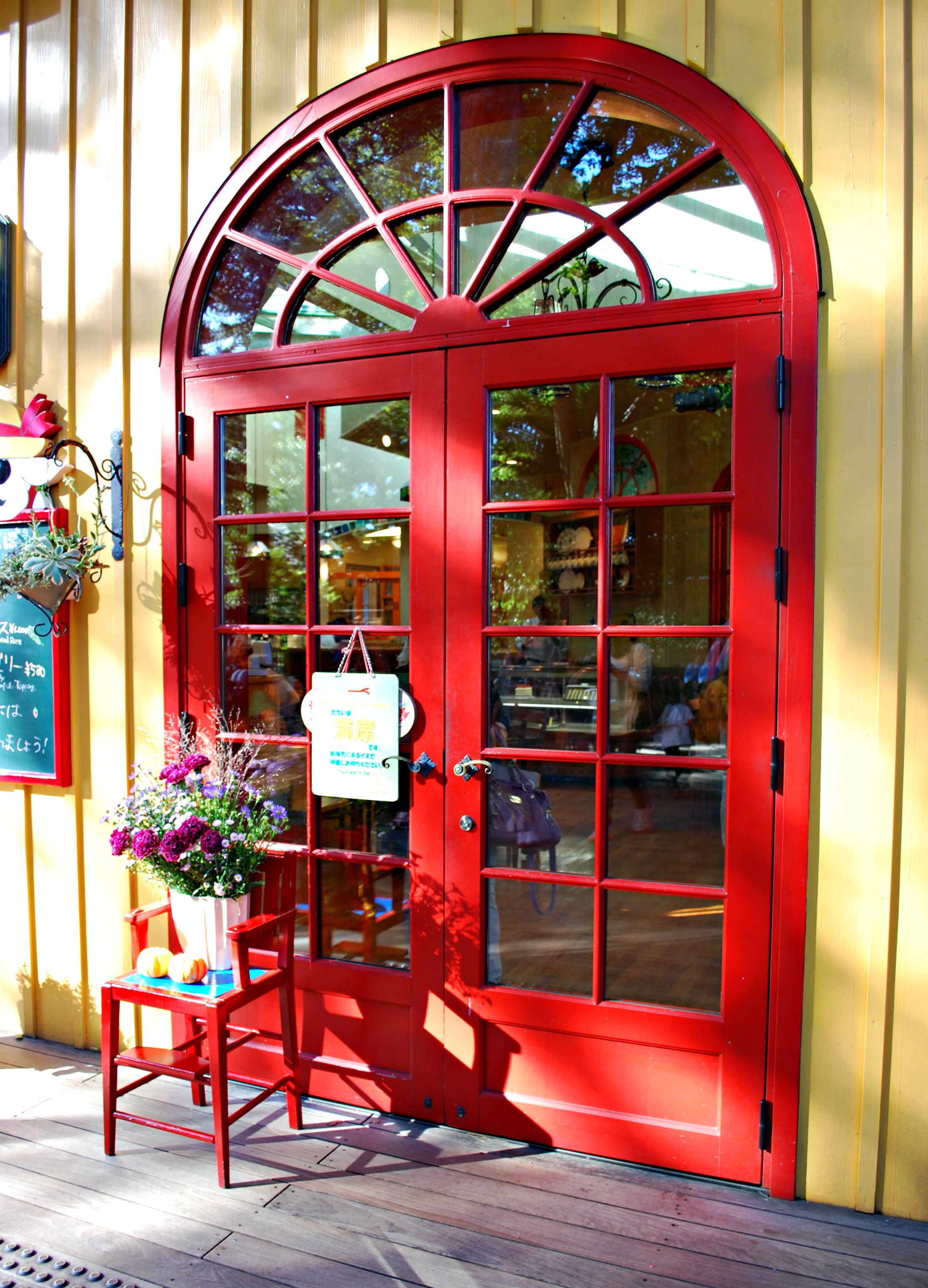 door to cafe & Japan: Eat A Late Lunch At The Straw Hat Cafe Ghibli Museum ...