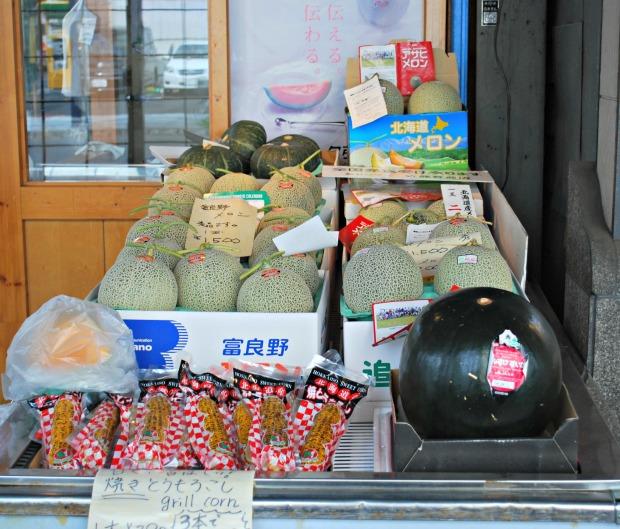 nijo market melons