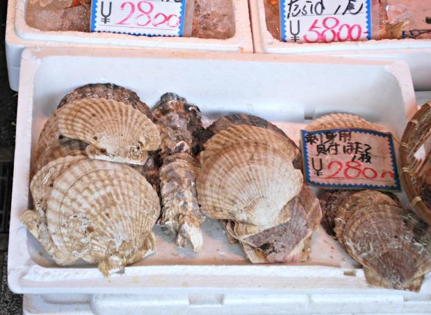 nijo market scallops