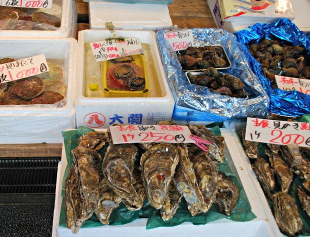 nijo market seafood variety 2