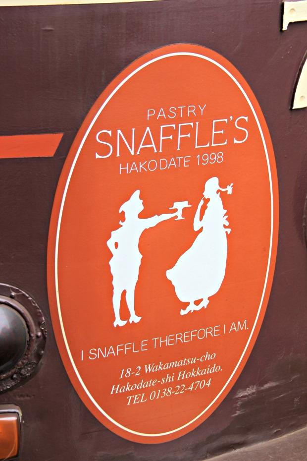 pastry snaffles big sign