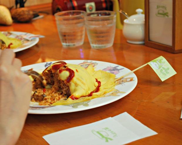 inside of omelette