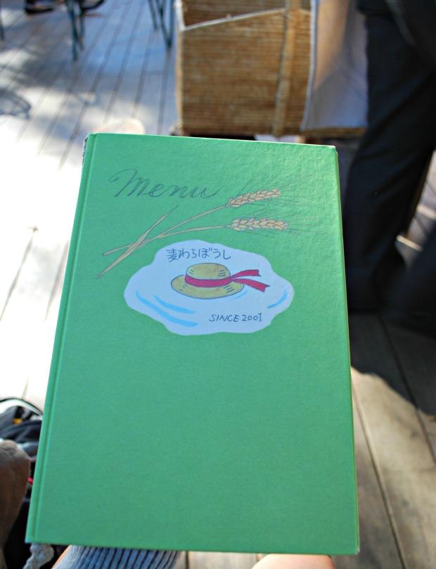straw hat cafe menu book