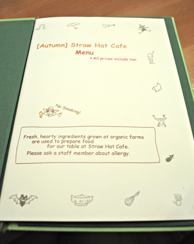 straw hat cafe menu english 1