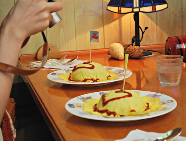 straw hat cafe omelette