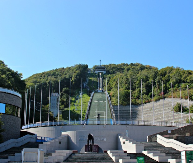 main picture of okurayama ski jump