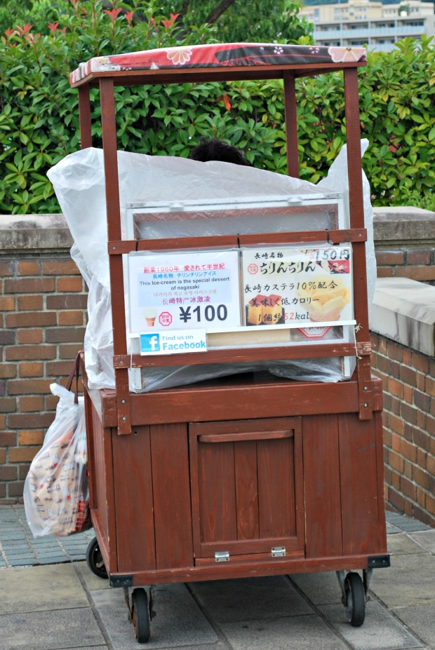 nagasaki peace park castella soft