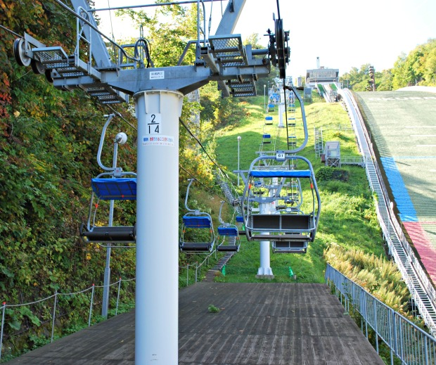 Okurayama chair lifts 2