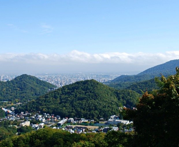 views from okurayama observatory