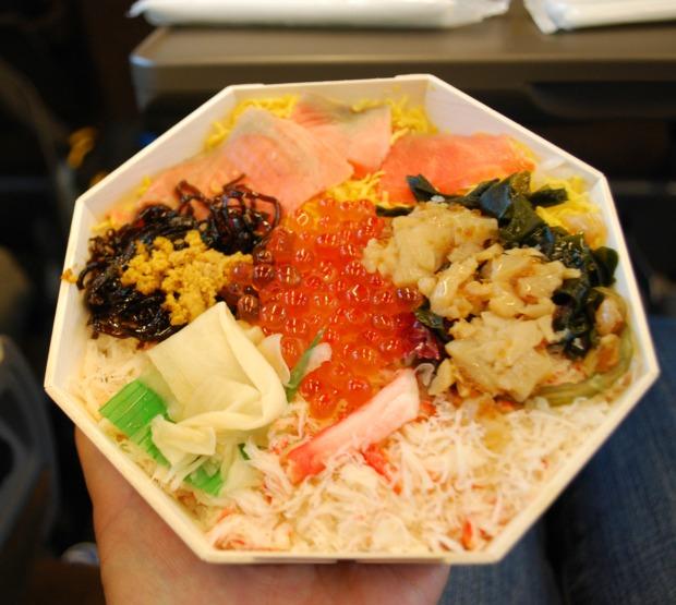 Sapporo Seafood Ekiben